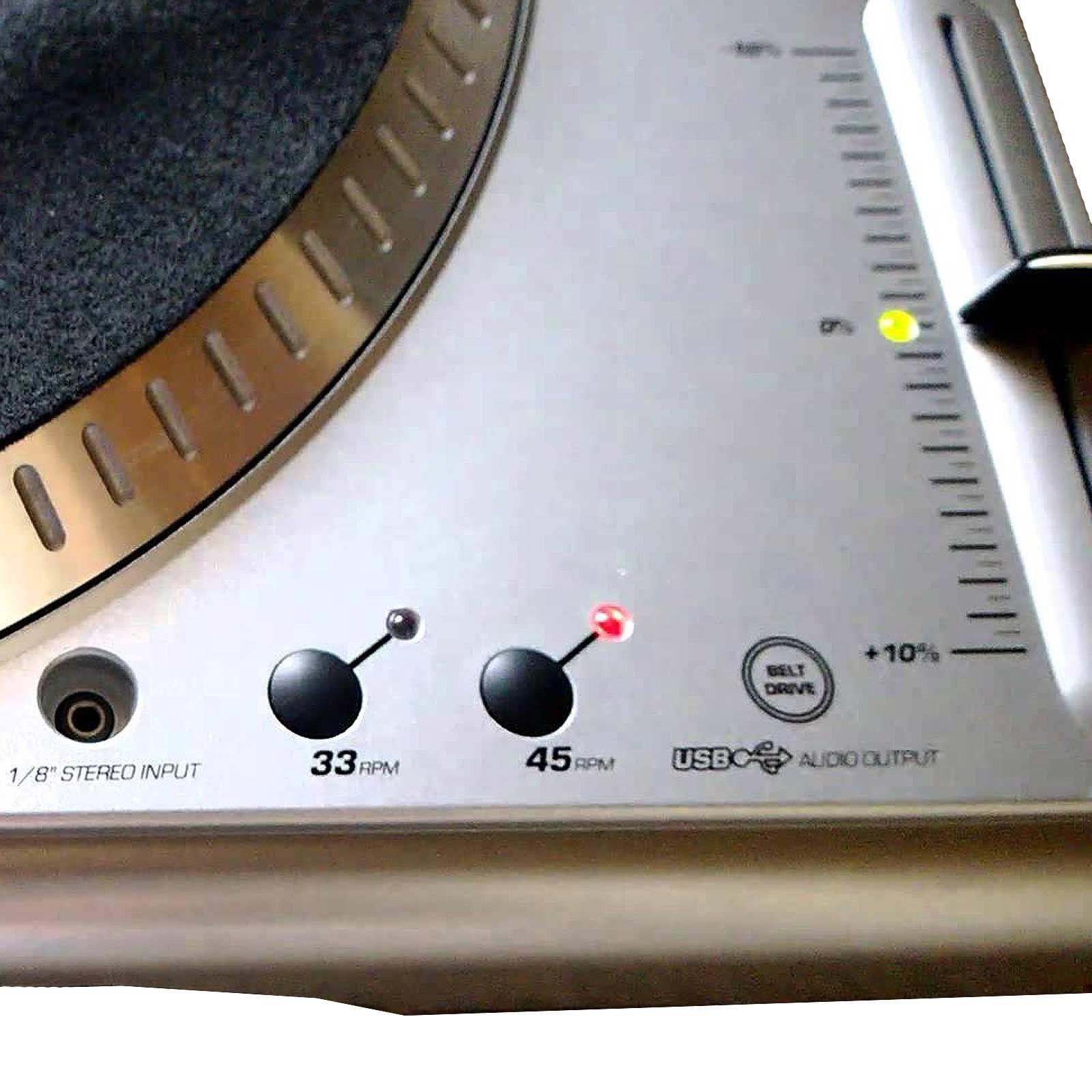 numark ttusb turntable with usb audio interface b71