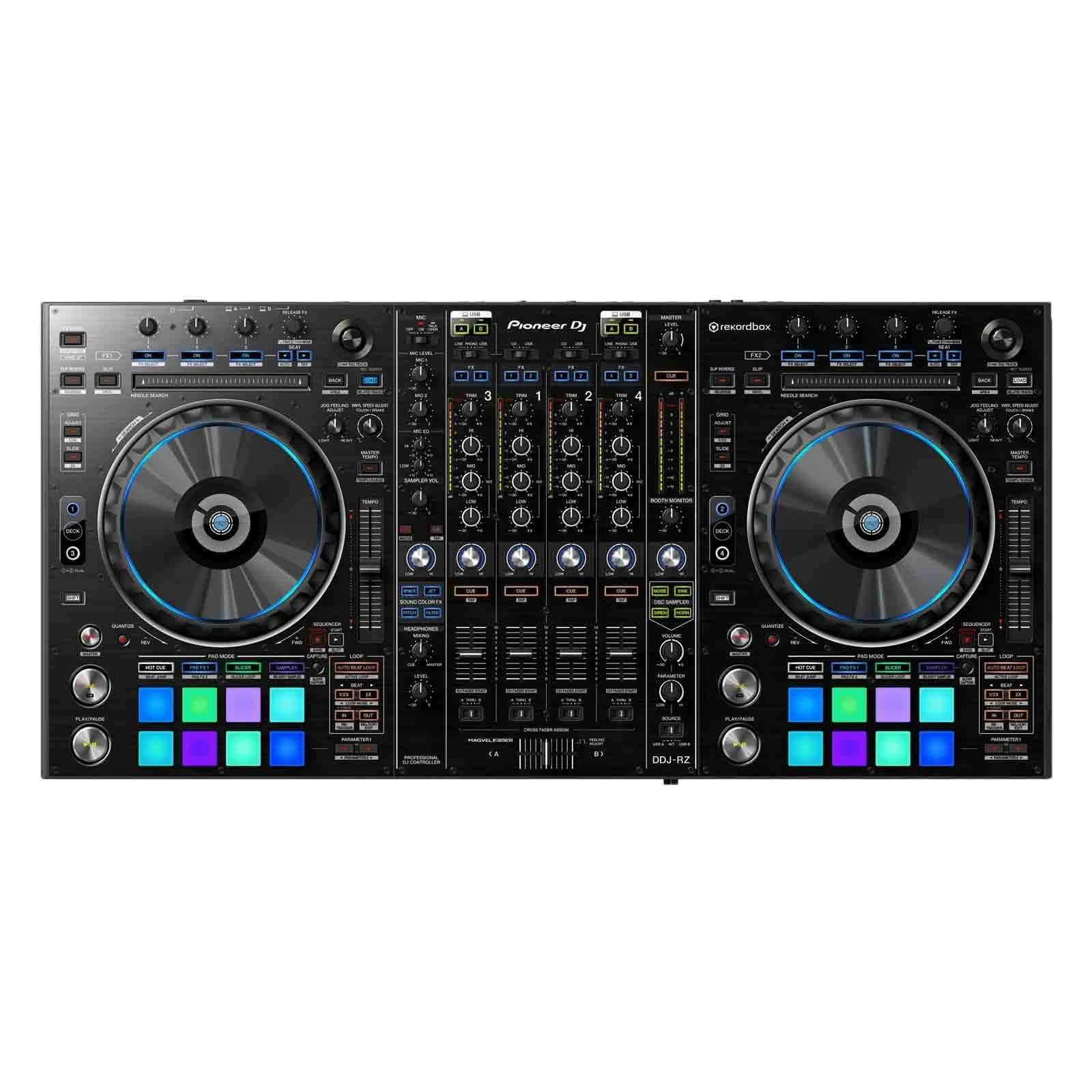 pioneer-ddj-rz-professional-4-channel-rekordbox-dj-controller-with-performance-pads-a6a