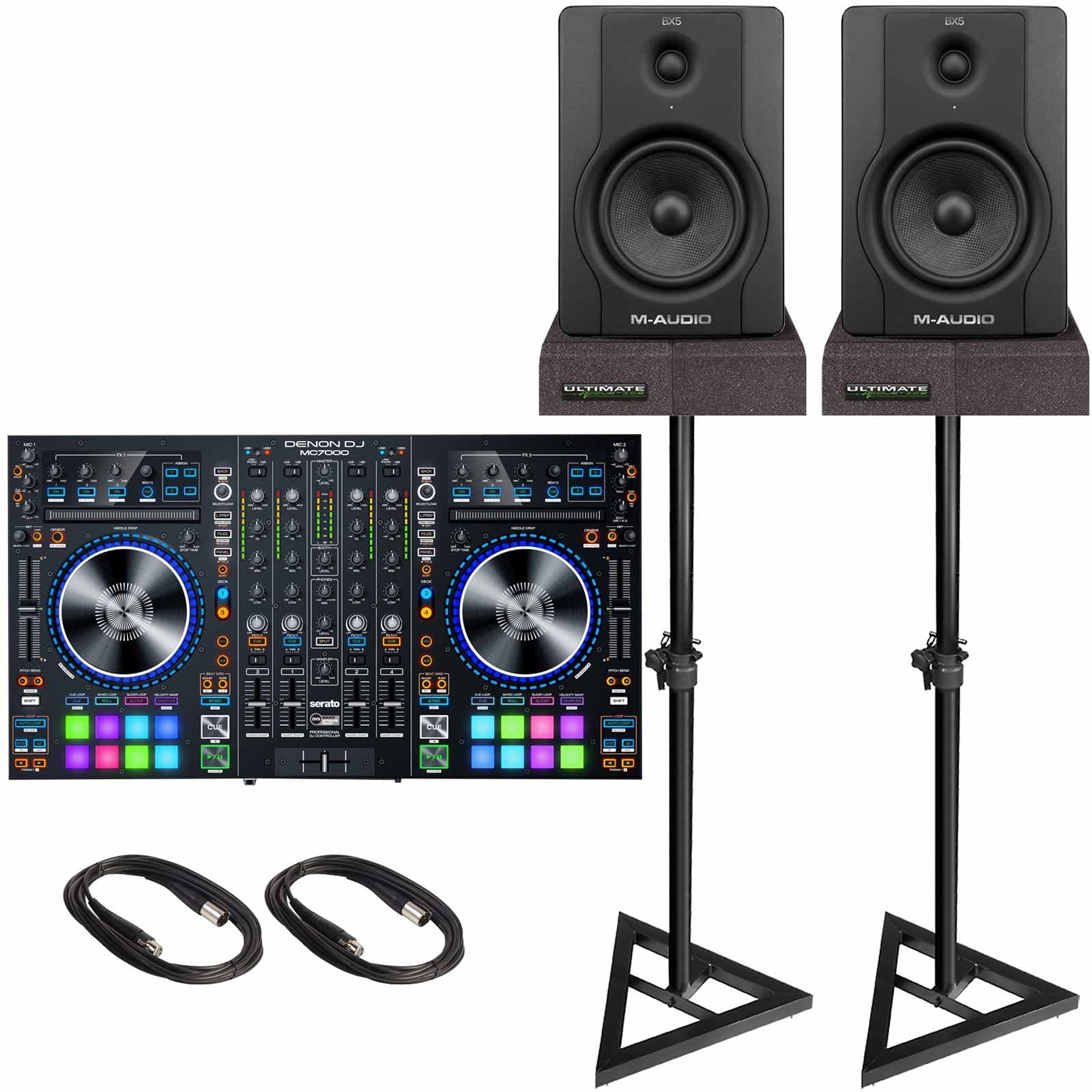 how to connect monitor speakers to mixer