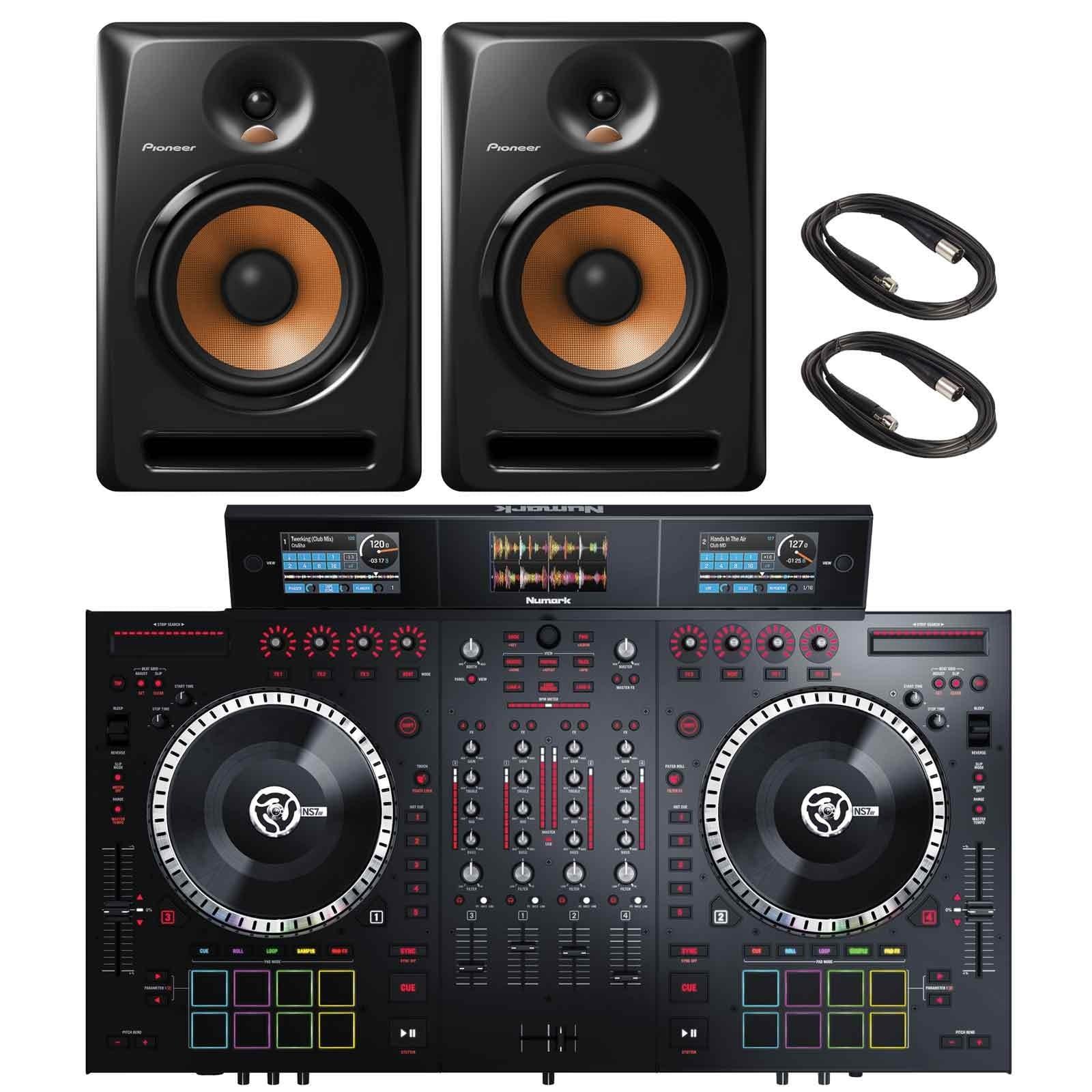 Numark NS7III 4-Channel Motorized Serato DJ Controller