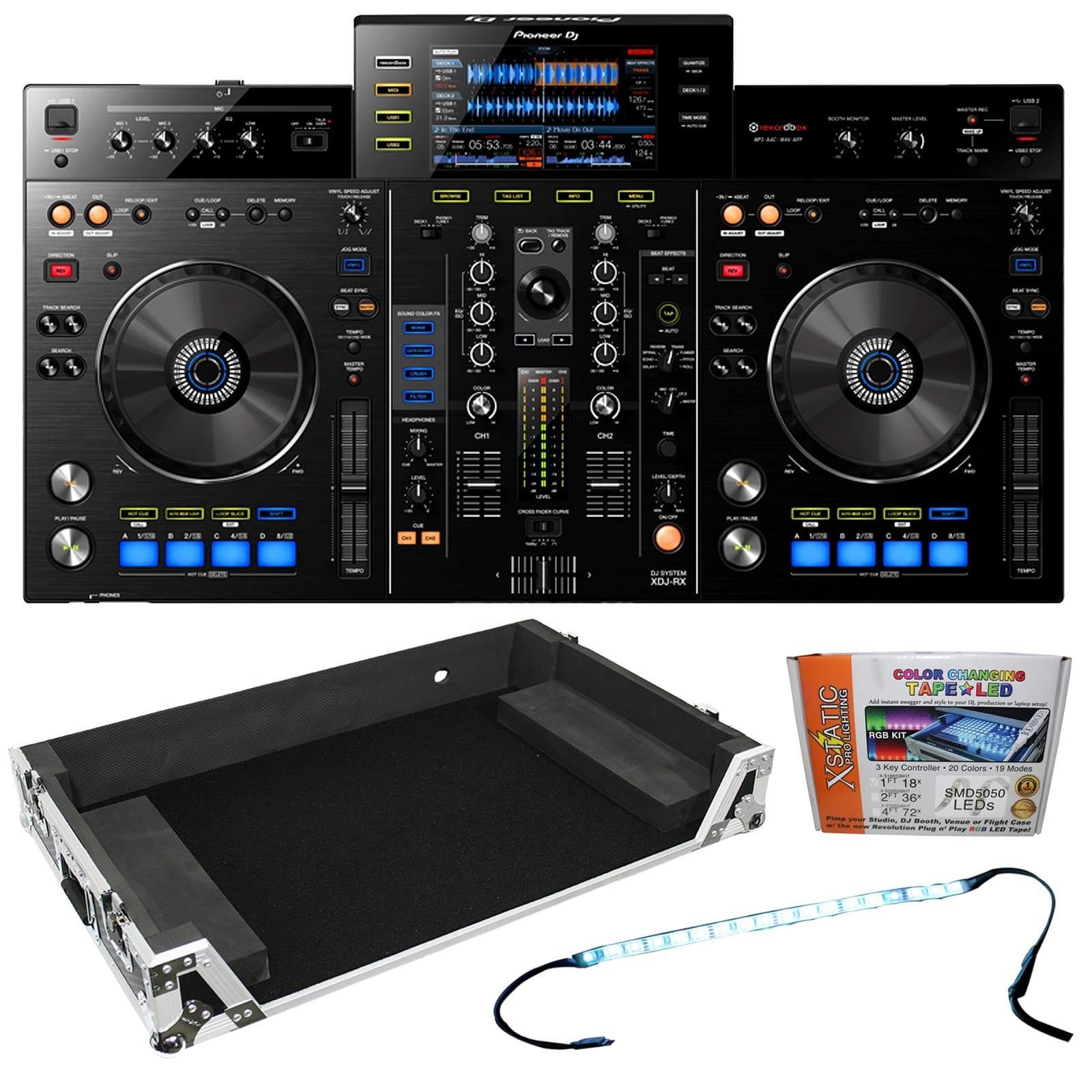 Pioneer DJ XDJ-RX Rekordbox DJ System & Flight Case Package