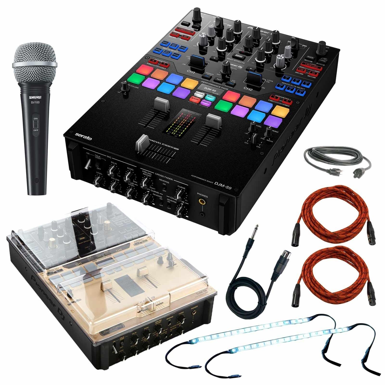 Pioneer DJM-S9 Professional 2-Channel Serato Battle Mixer