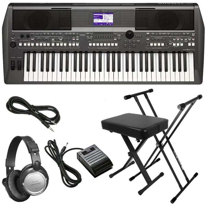 YAMAHA PSR-S670 ARRANGER WORKSTATION KEYBOARD STAGE ESSENTIALS