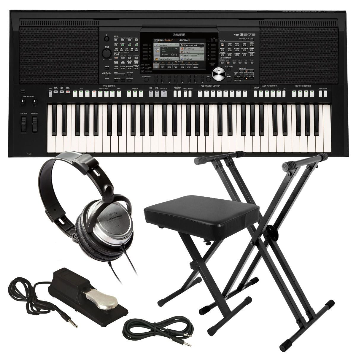 yamaha psr s975 arranger workstation keyboard key. Black Bedroom Furniture Sets. Home Design Ideas