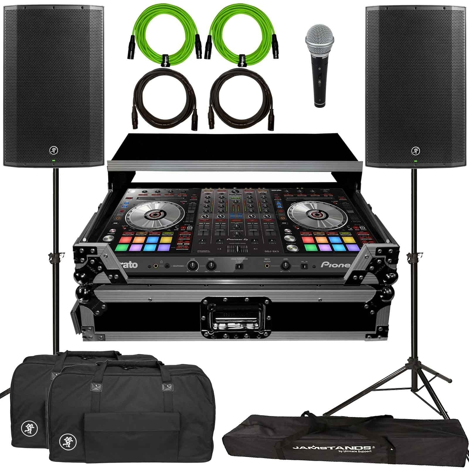 pioneer-dj-ddj-sx3-4-channel-serato-dj-pro-controller-with-mackie-thump12a-12-powered-speakers-flight-case-package-a64