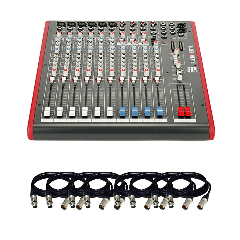 Allen & Heath ZED14 – 14-Channel Recording and Live Sound