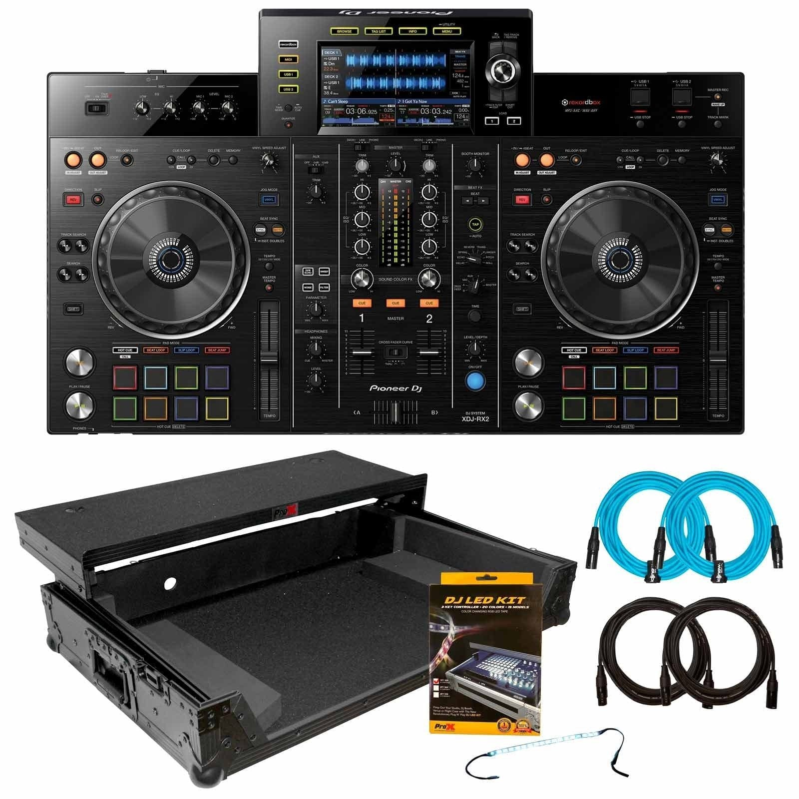 pioneer-dj-xdj-rx2-2-channel-professional-rekordbox-dj-system-with-black-on-black-flight-case-package-b99