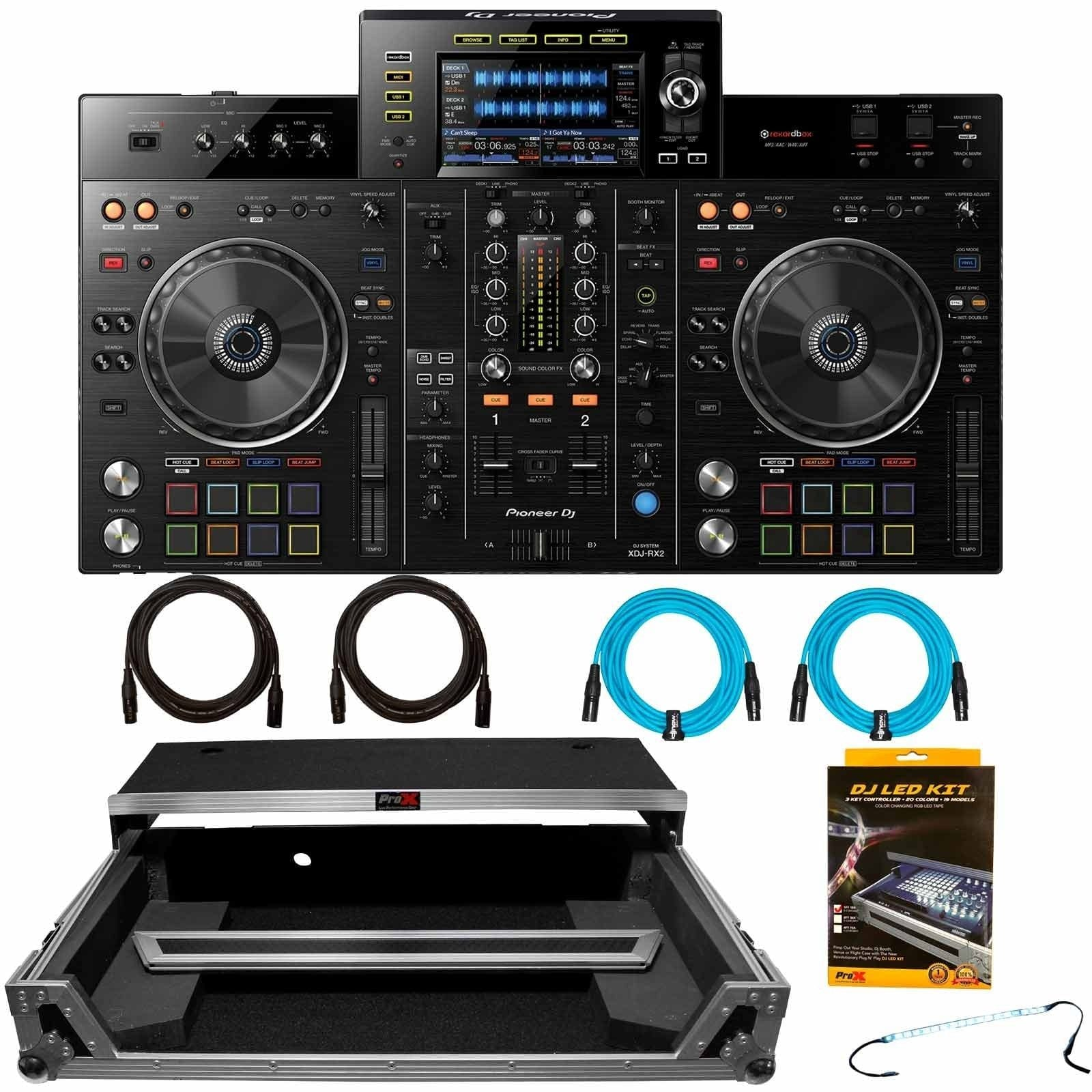 pioneer-dj-xdj-rx2-2-channel-professional-rekordbox-dj-system-with-chrome-silver-flight-case-package-e41