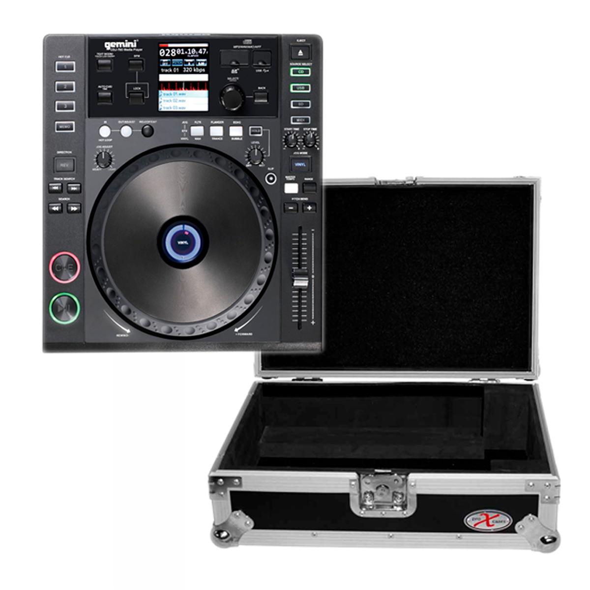 Gemini MDJ900 USB - ProX XS-CD Case