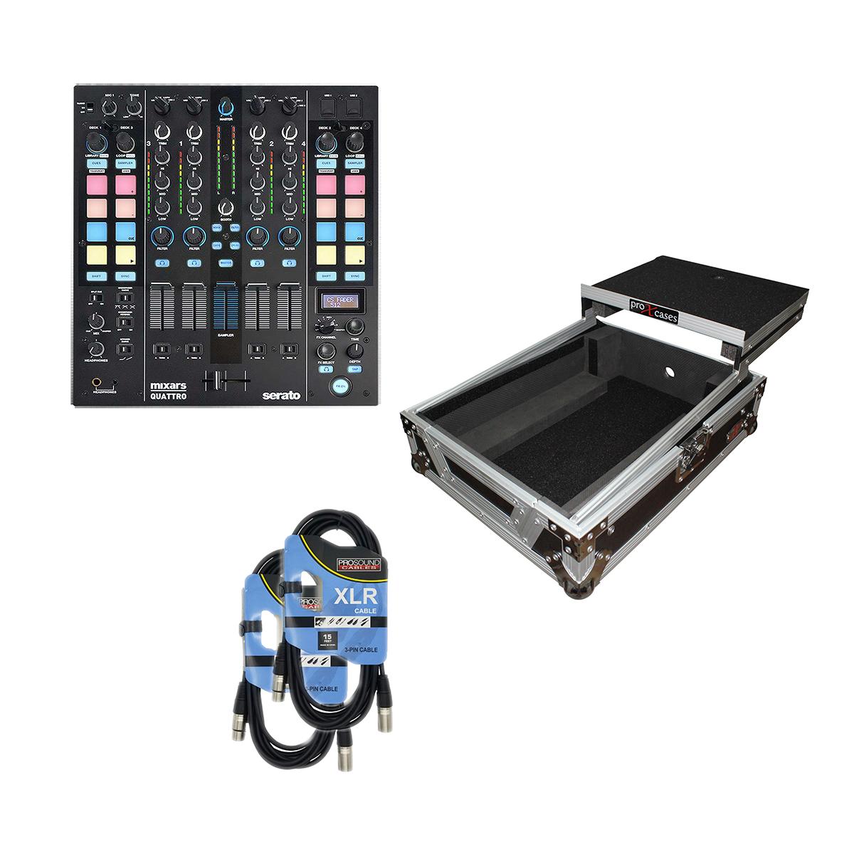 -1 Mixars QUATTRO - Prox XS-M12LT - 2 XLR Cables - $729.99