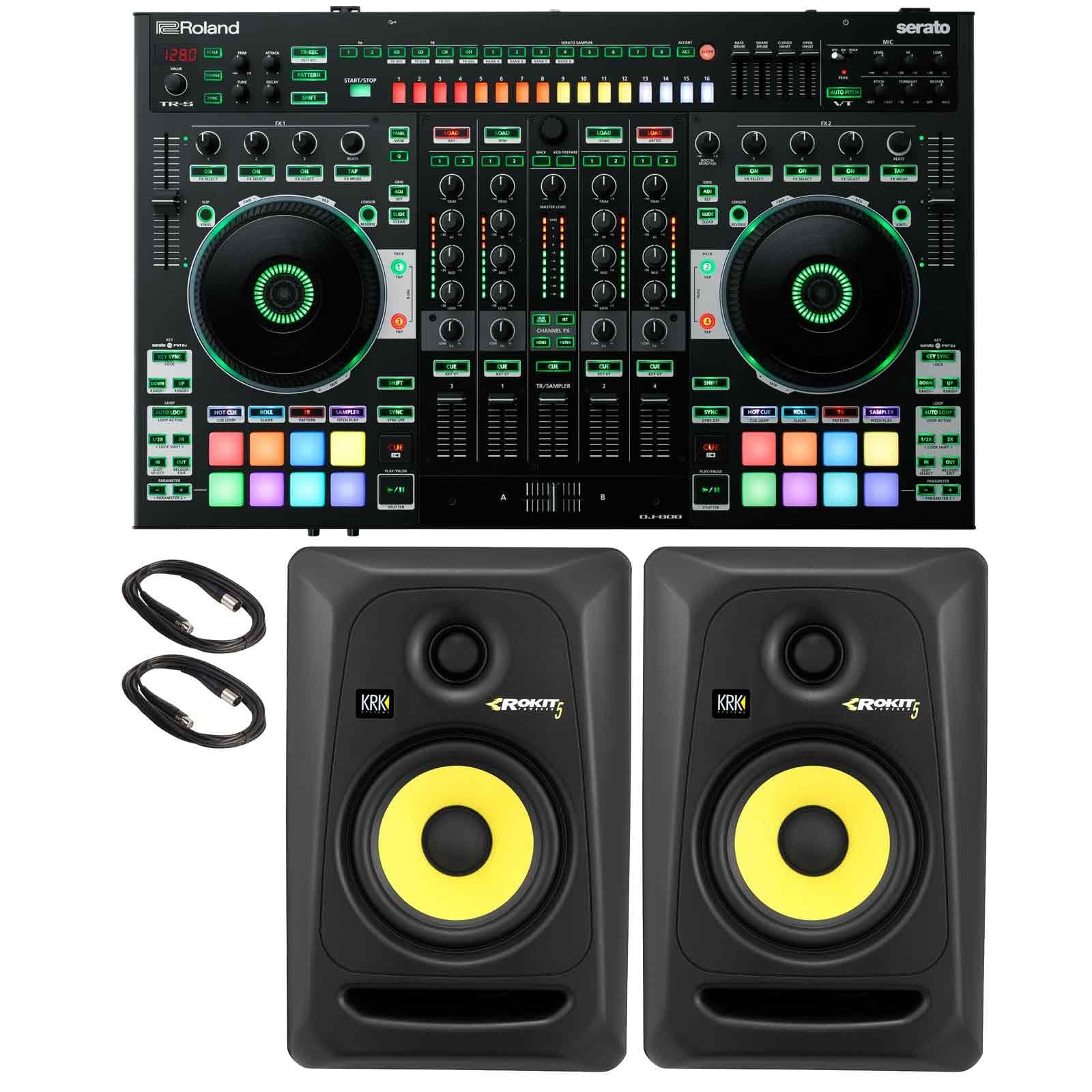 roland-dj-808-4-channel-mixer-dj-controller-with-krk-rokit-rp5g3-5-powered-monitor-speakers-pack.jpg