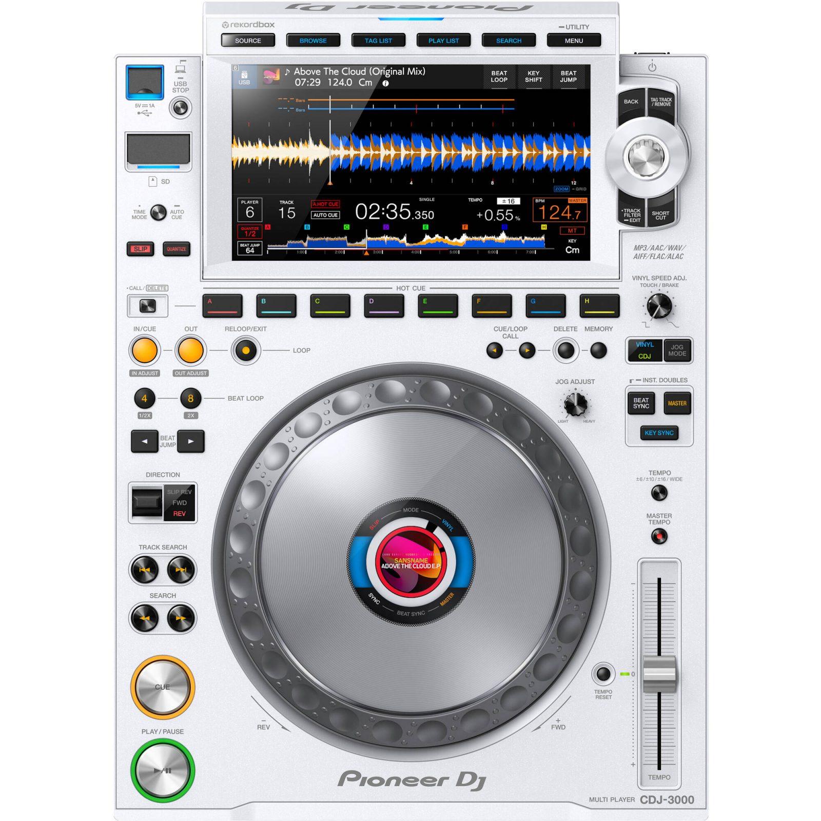 CDJ-3000 White 4