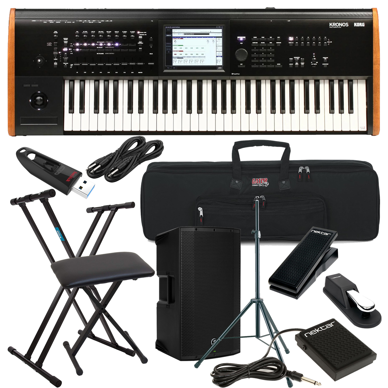 Korg Kronos 61-key Synthesizer Workstation Bundle 5
