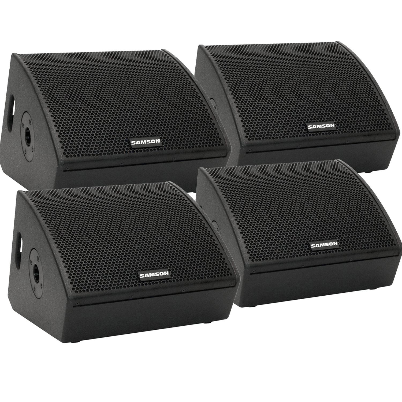 Samson RSXM10A – 800W 2-Way Active Stage Monitors Bundle 2